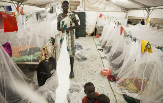 Malariaepidemi Bentiu-hospitalet