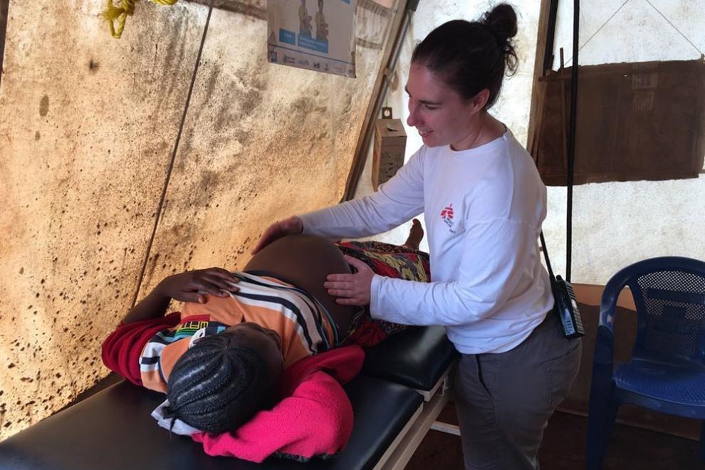 Vi giver fødselshjælp i DR Congo.